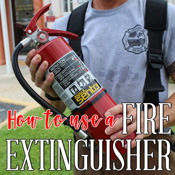 How to Use a Fire Extinguisher 1 Daily Mom Parents Portal