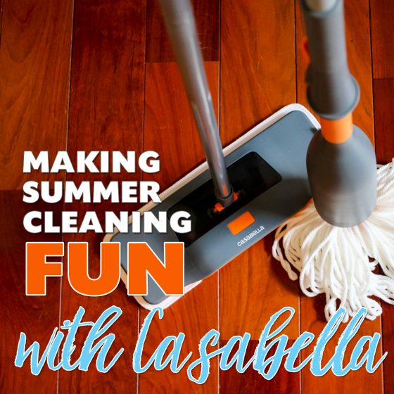Making Summer Cleaning Fun with Casabella 7 Daily Mom Parents Portal