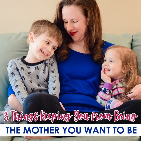 3 Things Keeping You From Being the Mother You Want to be 1 Daily Mom Parents Portal