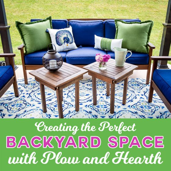 Creating the Perfect Backyard Space with Plow & Hearth 1 Daily Mom Parents Portal