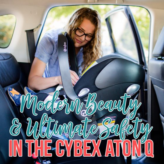 Modern Beauty & Ultimate Safety in the Cybex Aton Q 1 Daily Mom Parents Portal