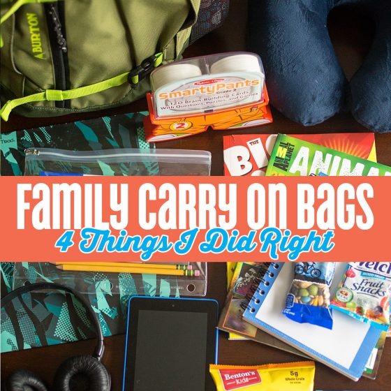 Family Carry On Bags- 4 Things I Did Right 19 Daily Mom Parents Portal