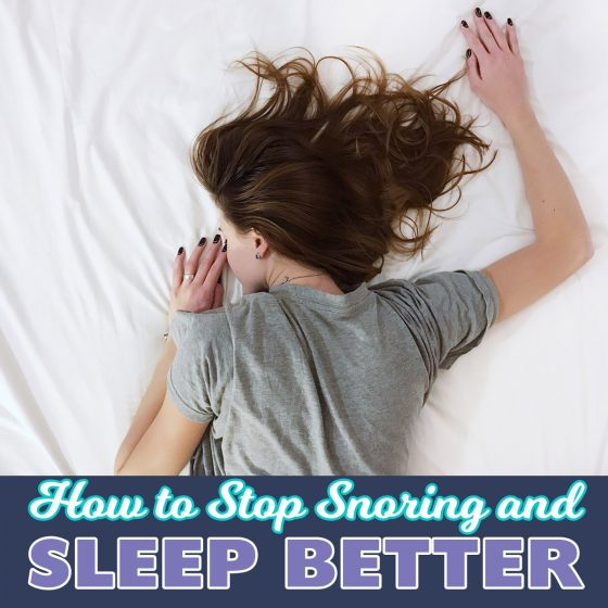 How to Stop Snoring and Sleep Better 9 Daily Mom Parents Portal