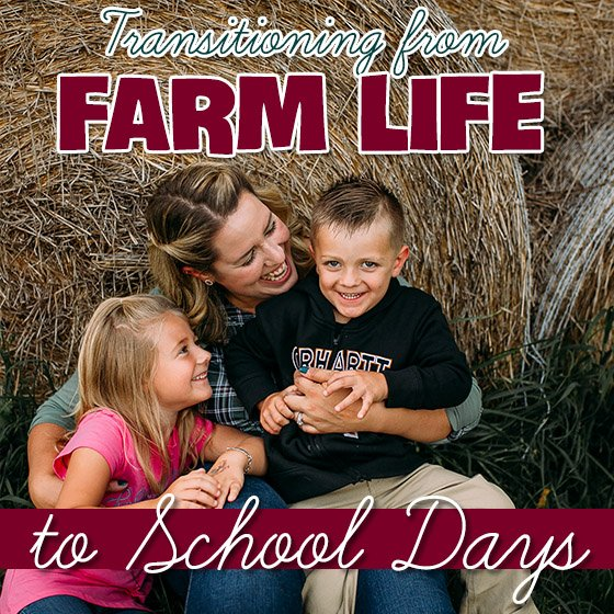 Transitioning from Farm Life to School Days 1 Daily Mom Parents Portal