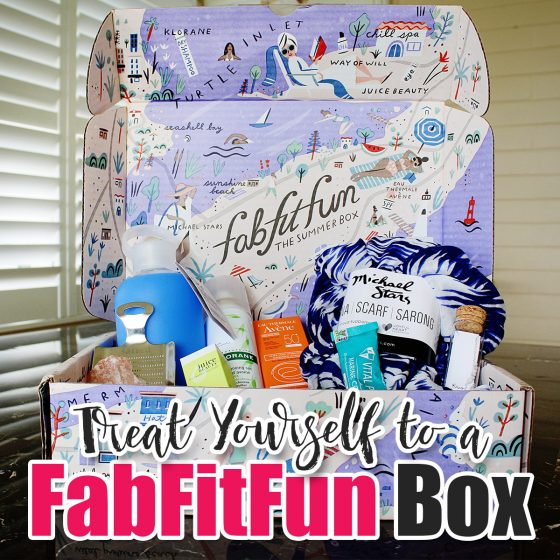 Treat Yourself to a Fab Fit Fun Box 1 Daily Mom Parents Portal