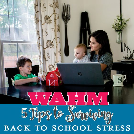 WAHM 5 Tips to Surviving Back to School Stress 1 Daily Mom Parents Portal