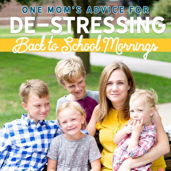 De-Stress Your Back to School Morning Routine 42 Daily Mom Parents Portal