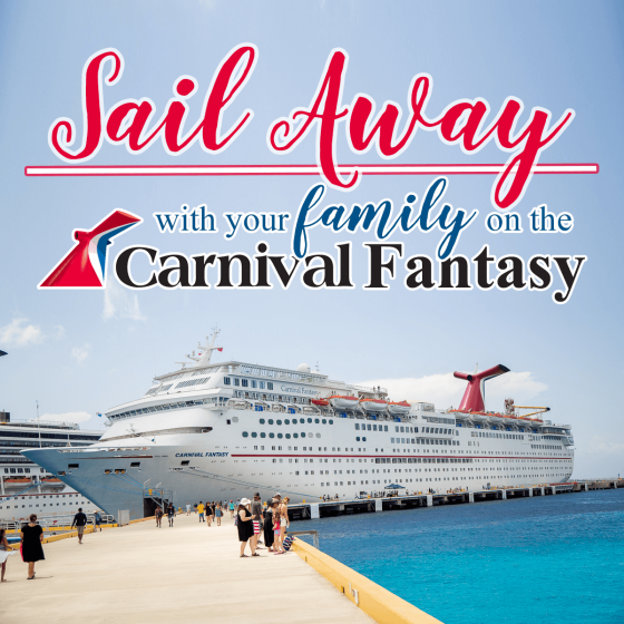 Sail Away with Your Family on the Carnival Fantasy 39 Daily Mom Parents Portal