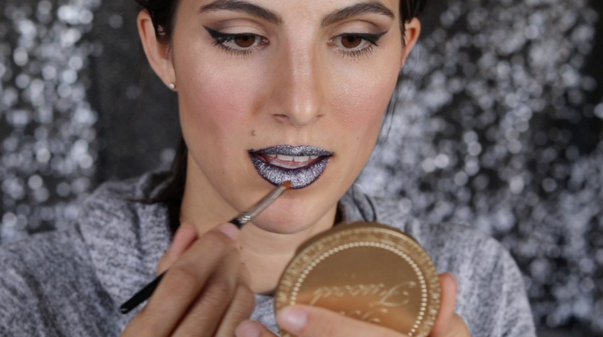How to Rock Glitter Lips for Halloween 4 Daily Mom Parents Portal