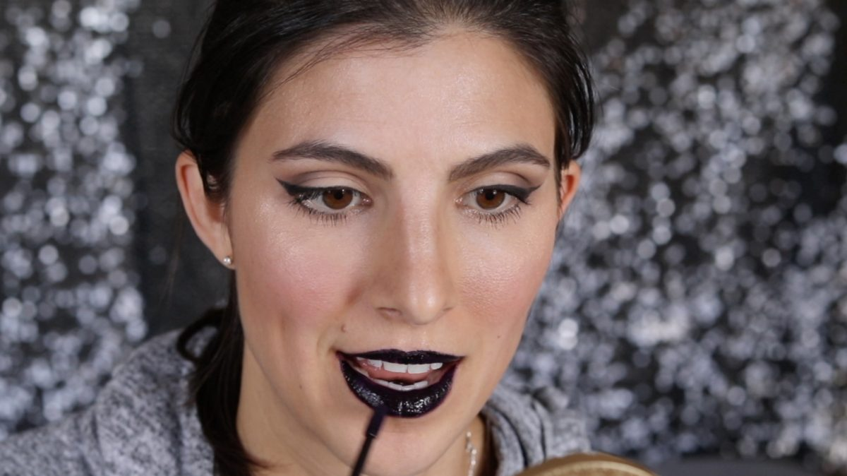 How to Rock Glitter Lips for Halloween 1 Daily Mom Parents Portal