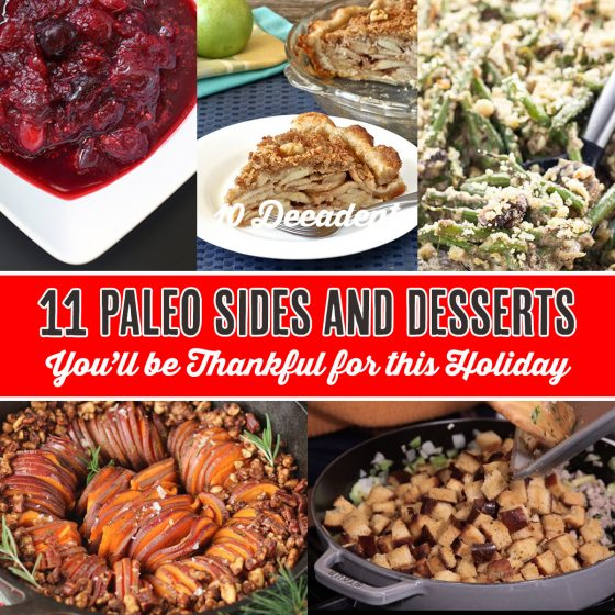 11 Paleo Sides and Desserts You'll be Thankful For This Holiday 1 Daily Mom Parents Portal