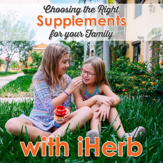 Choosing the Right Supplements for Your Family with iHerb 12 Daily Mom Parents Portal