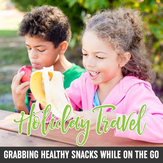 Holiday Travel: Grabbing Healthy Snacks While on the Go 1 Daily Mom Parents Portal
