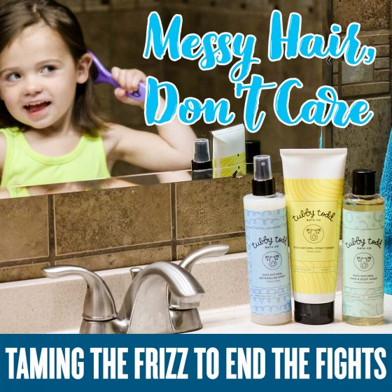 Messy Hair Don't Care: Taming the Frizz to End the Fights 1 Daily Mom Parents Portal
