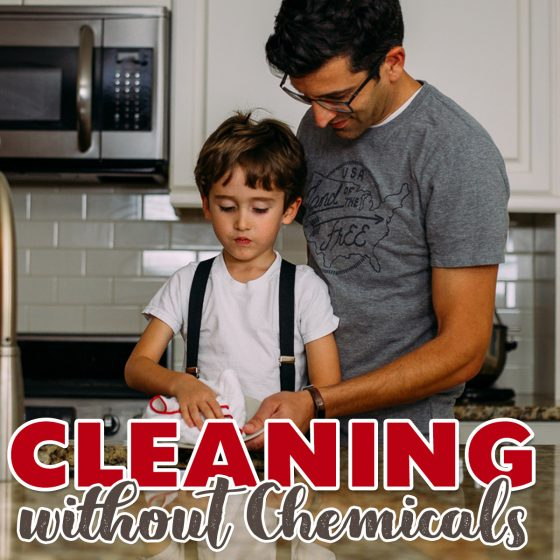 Cleaning without Chemicals 16 Daily Mom Parents Portal