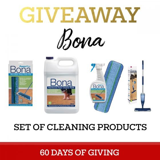 Bona Floor Care - Give the Gift of a Clean House 4 Daily Mom Parents Portal