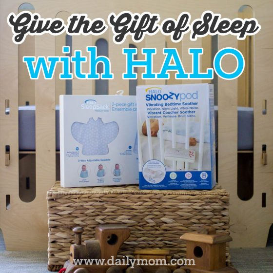 Give the Gift of Sleep with HALO 1 Daily Mom Parents Portal