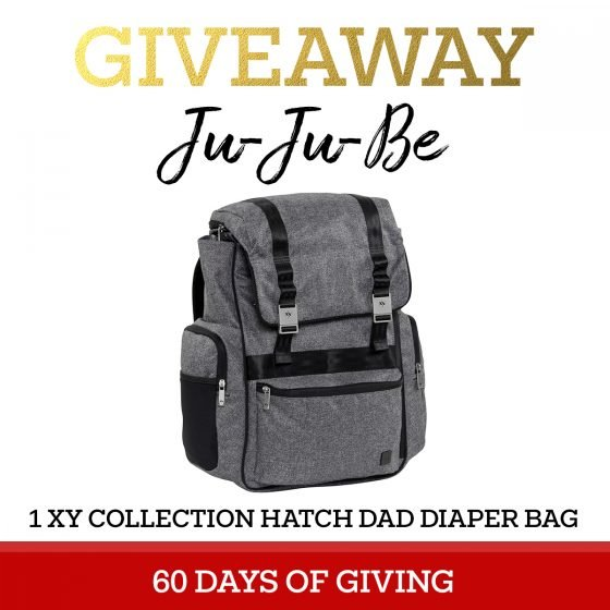 60 Days of Giving JuJuBe Hatch Dad Diaper Bag 1 Daily Mom Parents Portal