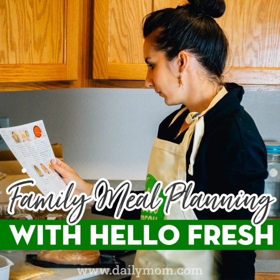 Family Meal Planning with HelloFresh 1 Daily Mom Parents Portal