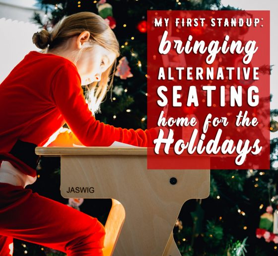 Bringing Alternative Seating Home for the Holidays 1 Daily Mom Parents Portal