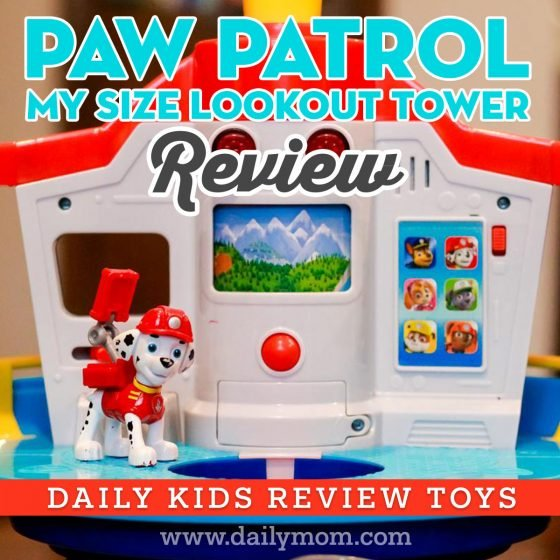 Paw Patrol Life Size Lookout Tower Set 1 Daily Mom Parents Portal