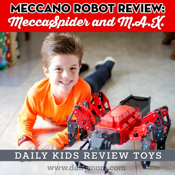 Meccano Robot Toy Reviews: Daily Kids Review Toys 1 Daily Mom Parents Portal