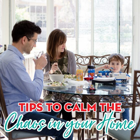 Tips to Calm the Chaos in Your Home 9 Daily Mom Parents Portal