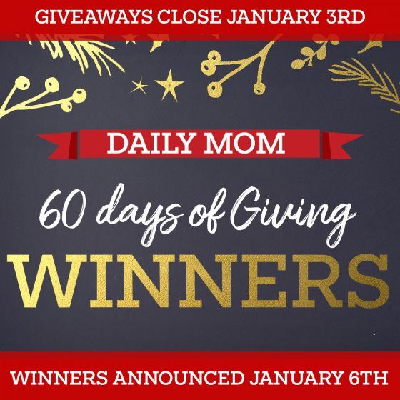 60 Days of Giving: Winners! 1 Daily Mom Parents Portal