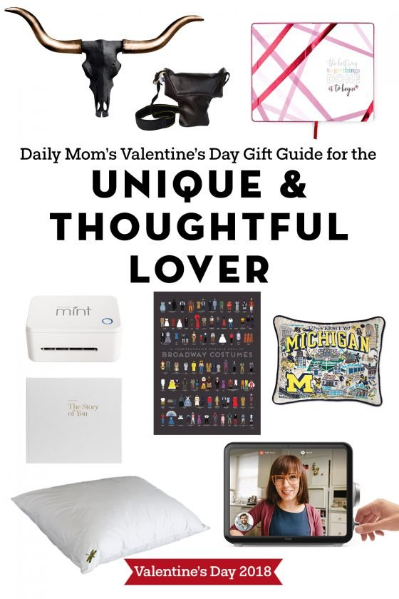 Unique and Thoughtful Gifts for Valentine's Day: 2018 41 Daily Mom Parents Portal