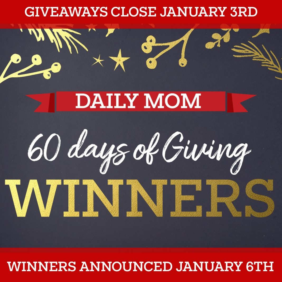 60 Days Of Giving: Winners!