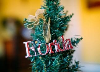 Holiday Decor, Florida Style
