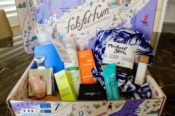 Treat Yourself To A Fab Fit Fun Box