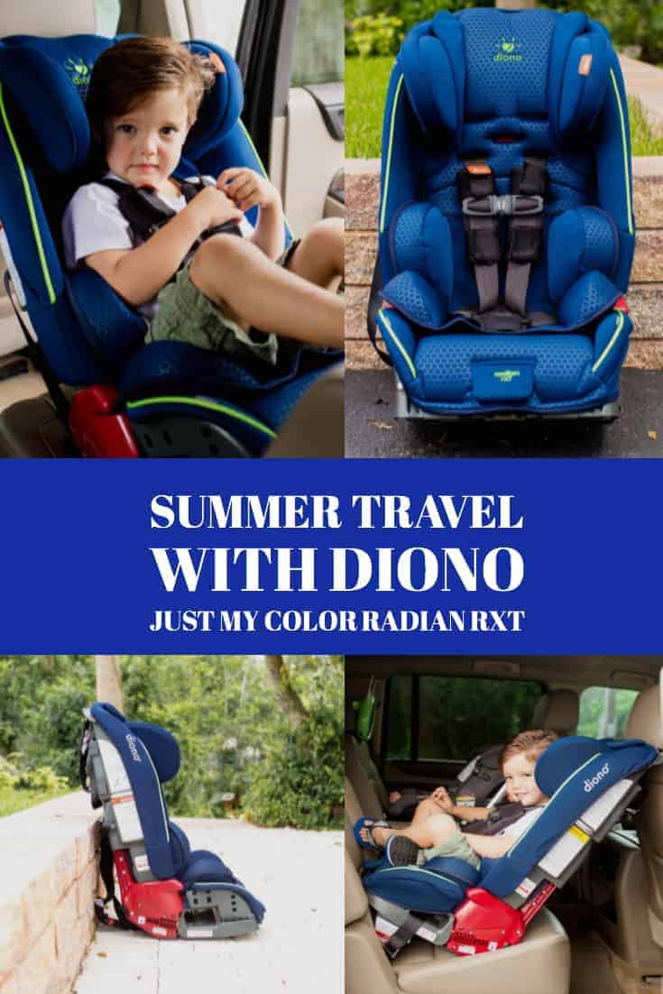 Summer Travel with Diono Just My Color radian rXT 1 Daily Mom Parents Portal