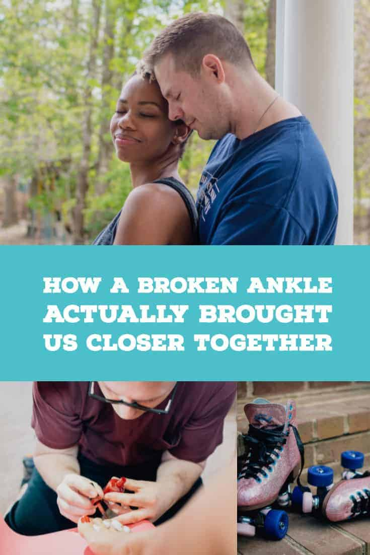 How A Broken Ankle Actually Brought Us Closer Together 6 Daily Mom Parents Portal