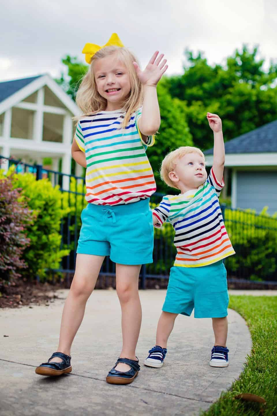 Spreading Joy with Rainbow Stripes by Primary 6 Daily Mom Parents Portal