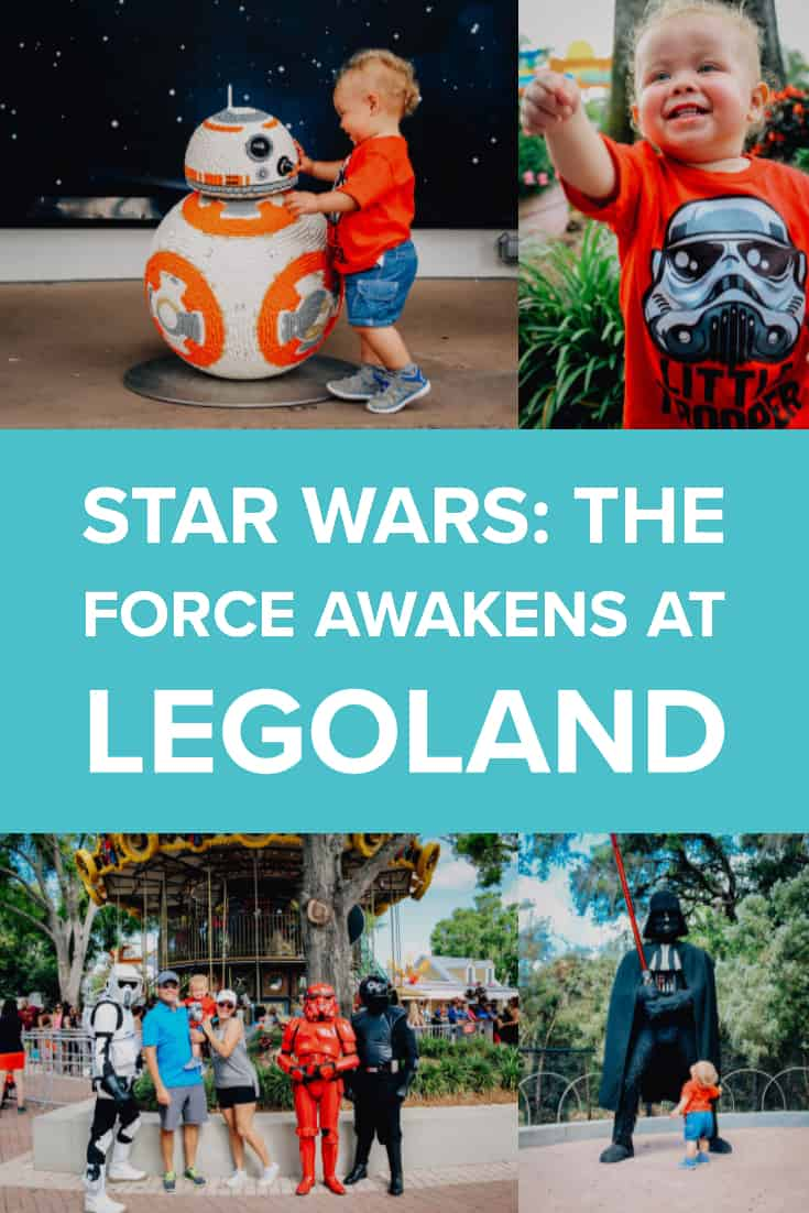 Star Wars: The Force Awakens at LEGOLAND