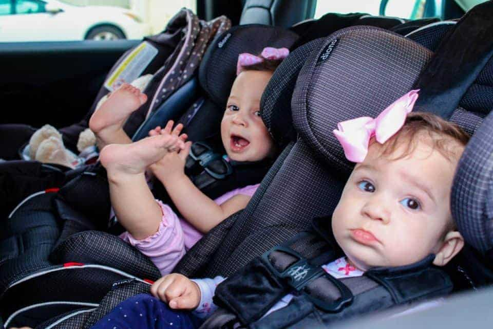Car seats for twins