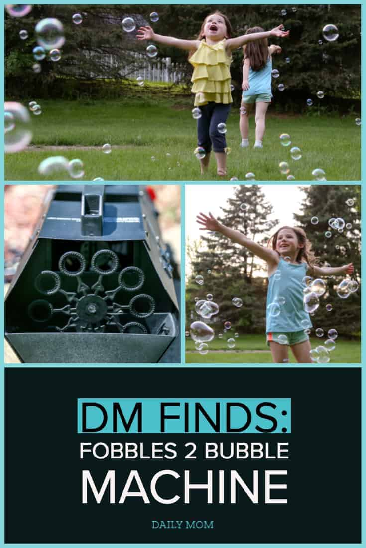 Backyard Bubbles for the Win - Introducing Fobble's Bubble Machine 18 Daily Mom Parents Portal
