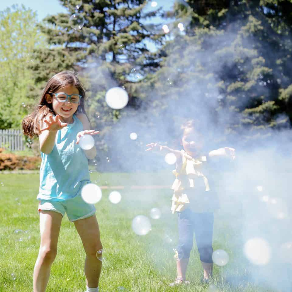 Backyard Bubbles for the Win - Introducing Fobble's Bubble Machine 13 Daily Mom Parents Portal