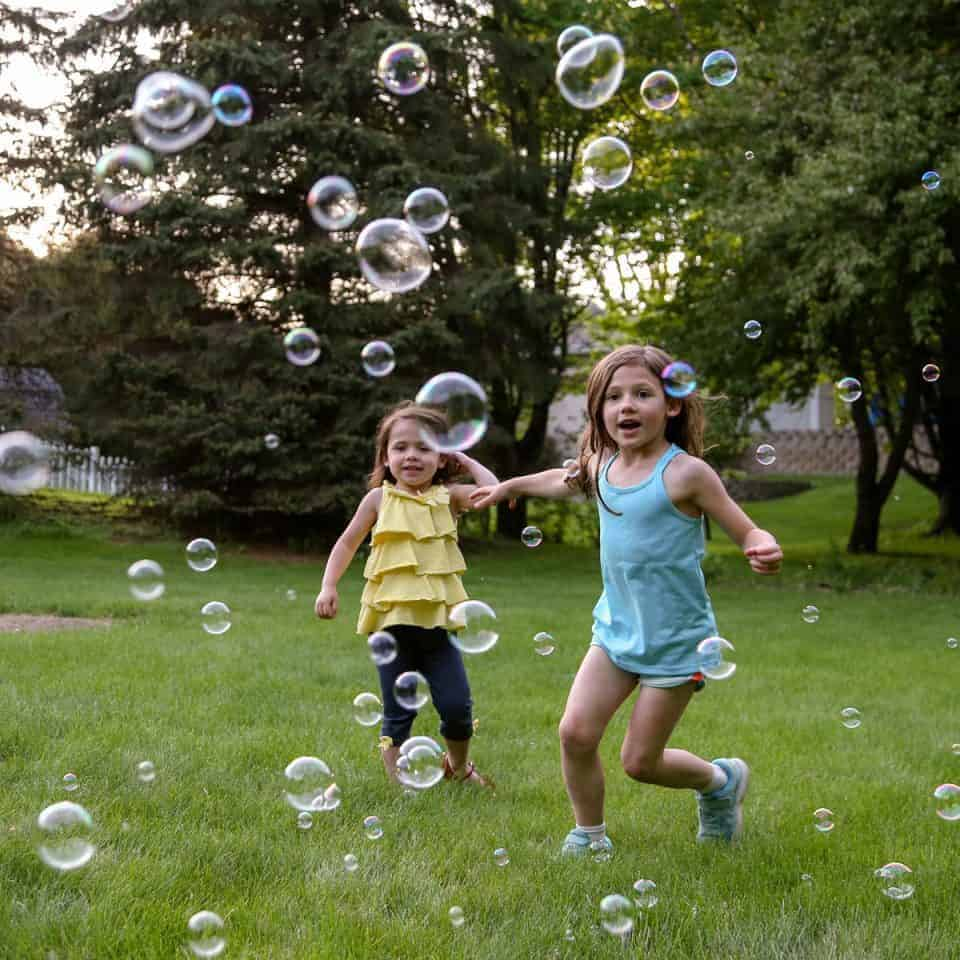 Backyard Bubbles for the Win - Introducing Fobble's Bubble Machine 17 Daily Mom Parents Portal