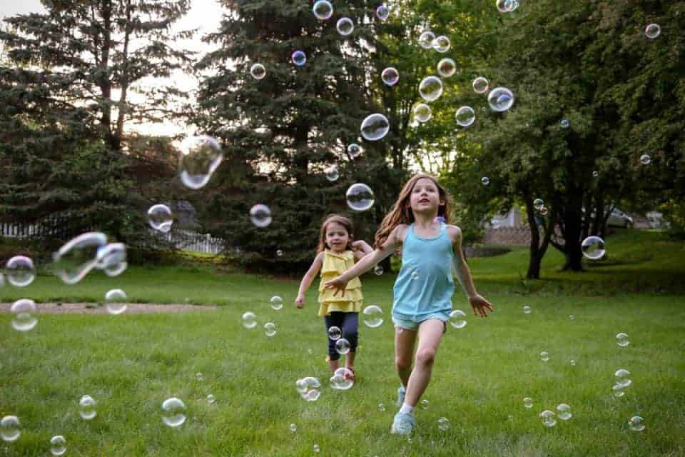 Backyard Bubbles for the Win - Introducing Fobble's Bubble Machine 16 Daily Mom Parents Portal