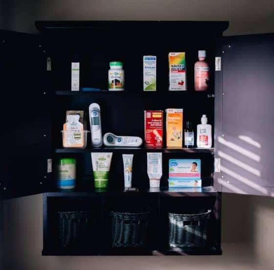 A Natural Mama's Medicine Cabinet