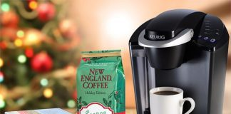 Celebrate The Flavors Of Winter With New England Coffee & Win A Keurig Coffee Brewer