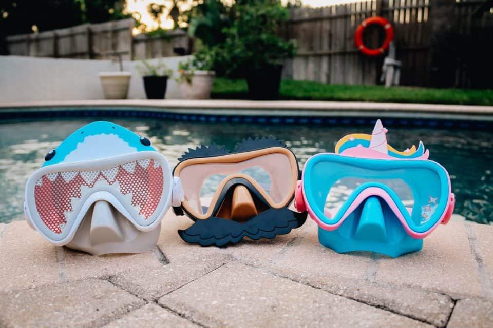 swim ways face masks