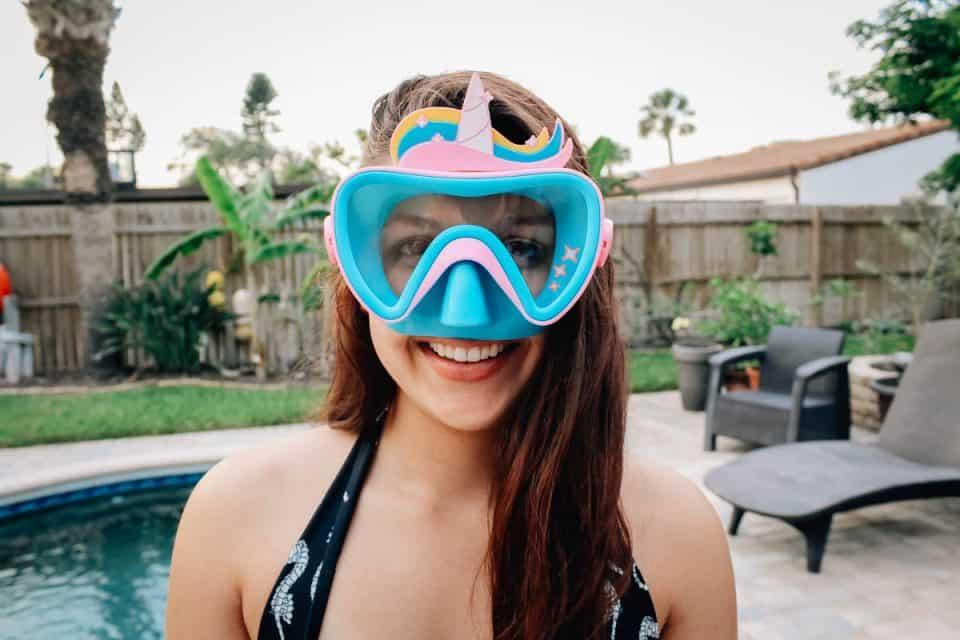 swim ways face mask