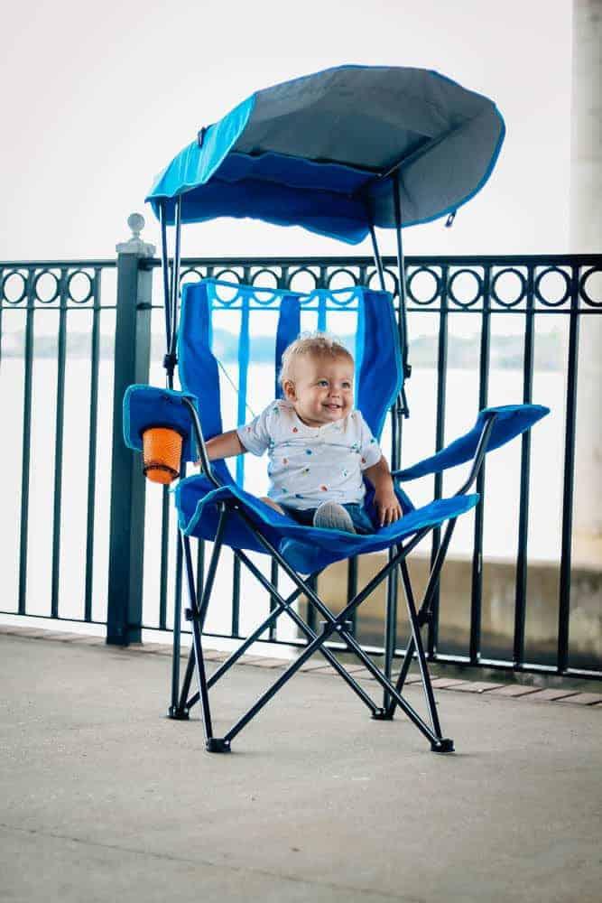 swim ways canopy chair
