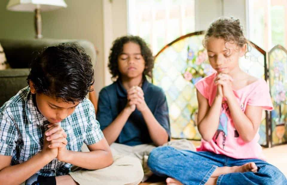 5 parenting hacks praying