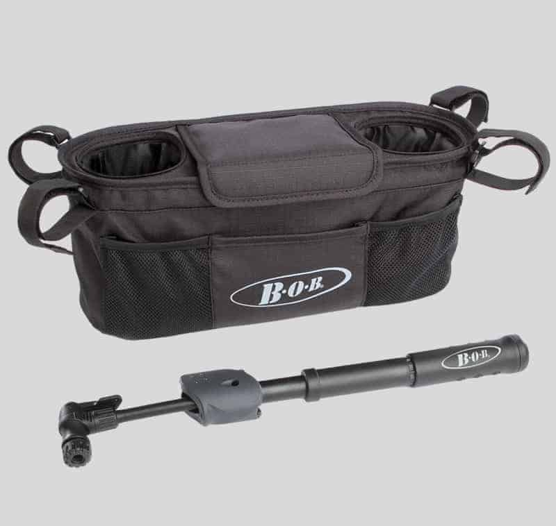 BOB-single-handlebar-console-with-tire-pump-1181