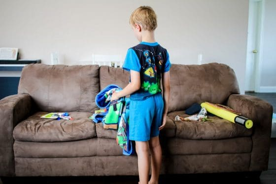 Cleaning House With Kids Underfoot