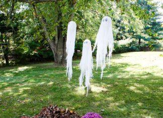 Diy Haunting Halloween Ghosts